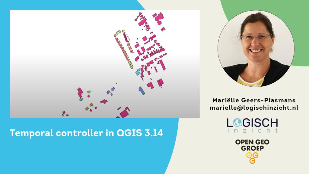 Temporal controller in QGIS