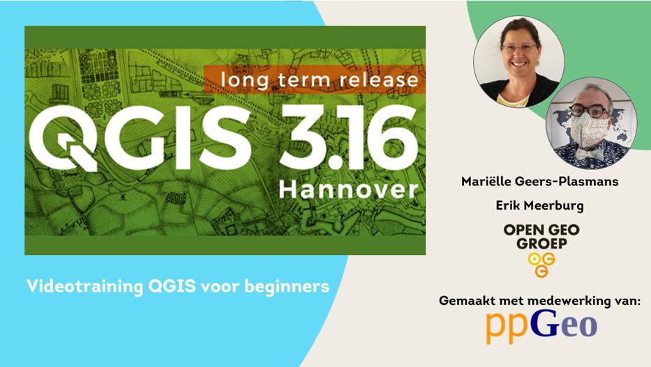 Videotraining QGIS voor beginners